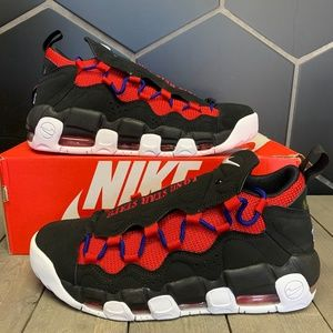 Nike Air More Money Black Lone Star State Shoes